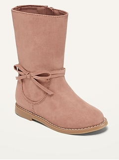 Oldnavy Faux-Suede Tall Boots for Toddler Girls