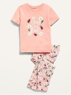 Baby girl OLD NAVY PUPPY DOG HEARTS DOTS pajamas PJs sleepwear NWT 6m 9m 12m