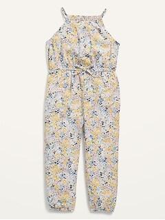 Oldnavy Sleeveless Printed Jumpsuit for Toddler Girls