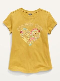 Oldnavy Short-Sleeve Graphic Tee for Toddler Girls