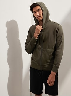 French Terry Hoodie Sweatshirt (Was $98.50, Now $67.99)