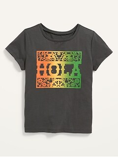 Oldnavy Matching Family Graphic Short-Sleeve T-Shirt for Girls